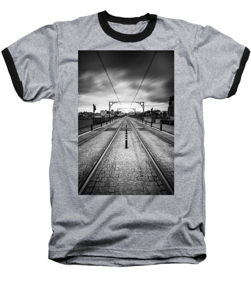 On A Gloomy Day Baseball T-Shirt