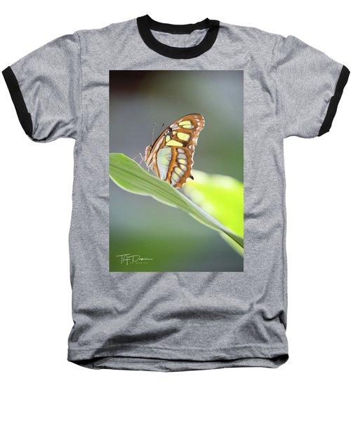 On A Leaf Baseball T-Shirt