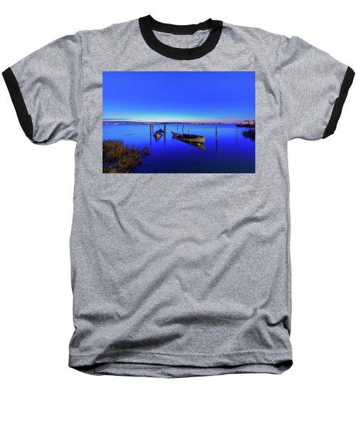 On A Mirrors Edge Baseball T-Shirt