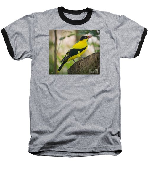 Baseball T-Shirt featuring the photograph On A Mission by Judy Kay