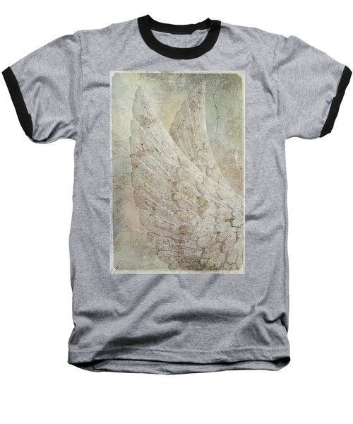 On Angels Wings 2 Baseball T-Shirt