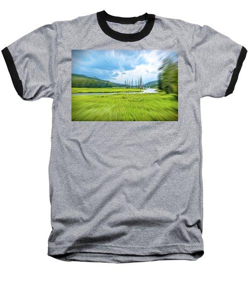 On Approach Baseball T-Shirt by Mark Dunton