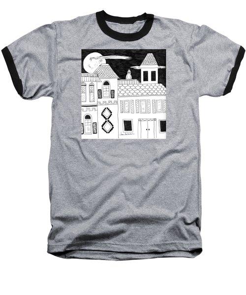 On Duty Baseball T-Shirt by Lou Belcher