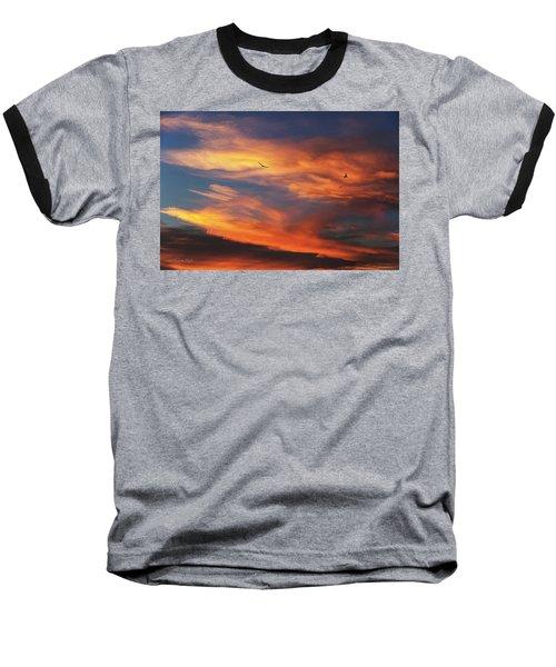On Eagle's Wings Baseball T-Shirt