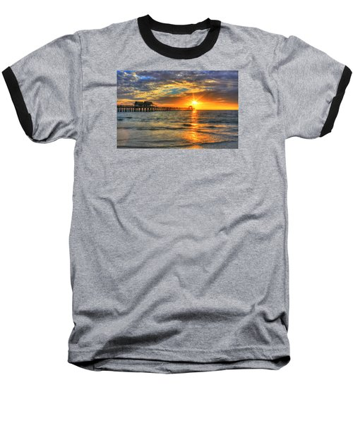On Fire Baseball T-Shirt