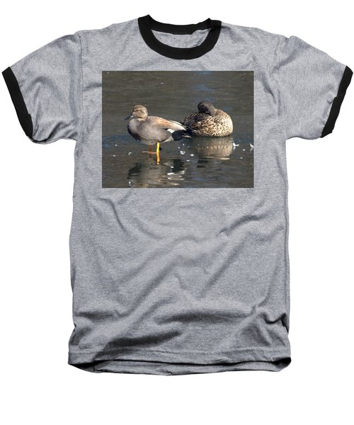 On Ice Baseball T-Shirt