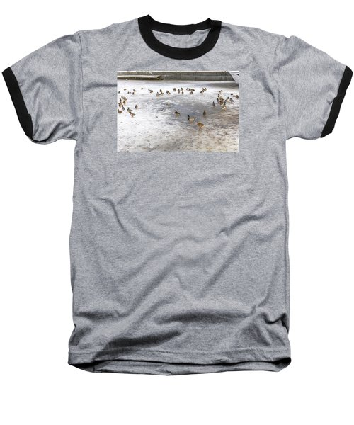 On Ice  Baseball T-Shirt