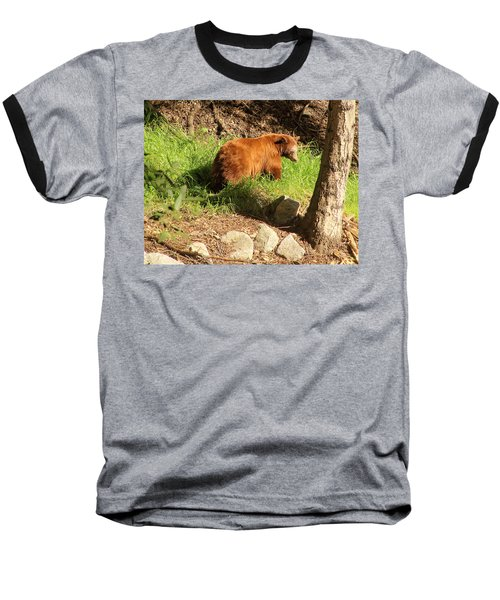 On Monrovia Trail Baseball T-Shirt by Viktor Savchenko