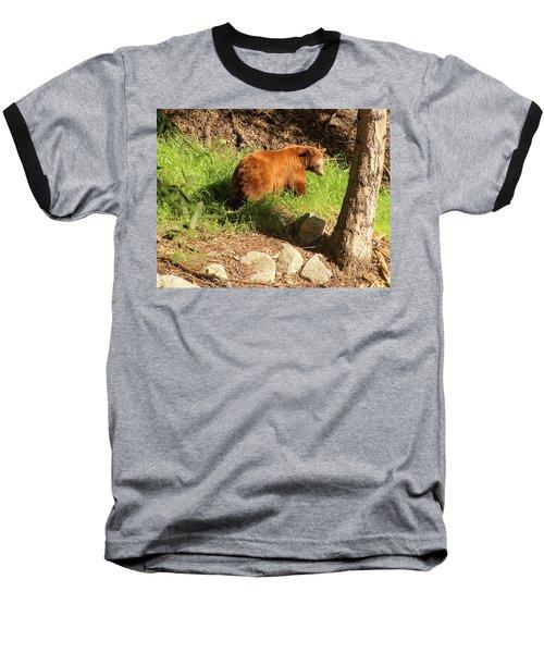 Baseball T-Shirt featuring the photograph On Monrovia Trail by Viktor Savchenko