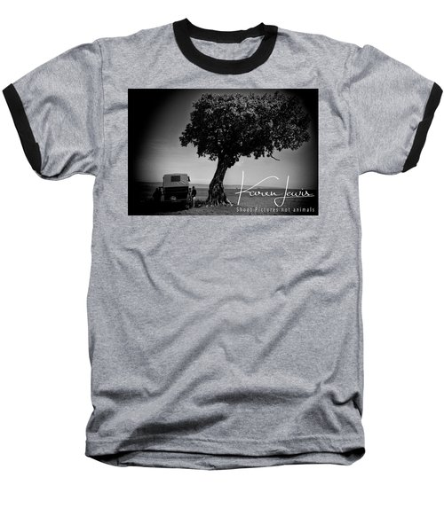 Baseball T-Shirt featuring the photograph On Safari by Karen Lewis