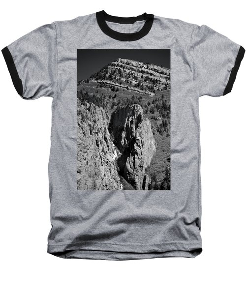 On Sandia Mountain Baseball T-Shirt