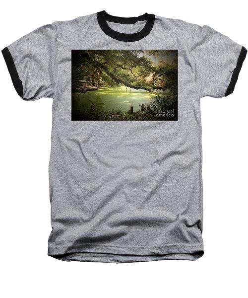 On Swamp's Edge Baseball T-Shirt