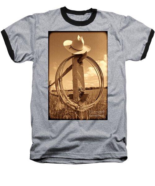 On The American Ranch Baseball T-Shirt