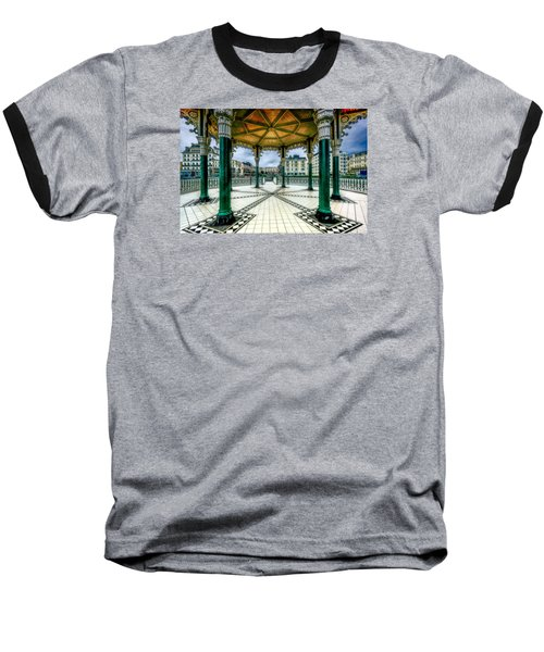 Baseball T-Shirt featuring the photograph On The Bandstand by Chris Lord