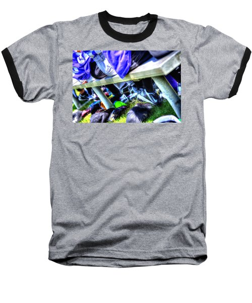 On The Bench 1619 Baseball T-Shirt