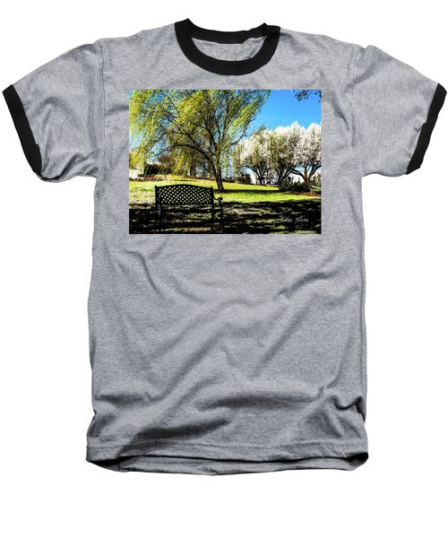 On The Bench Baseball T-Shirt