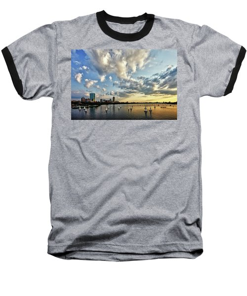 On The Charles II Baseball T-Shirt