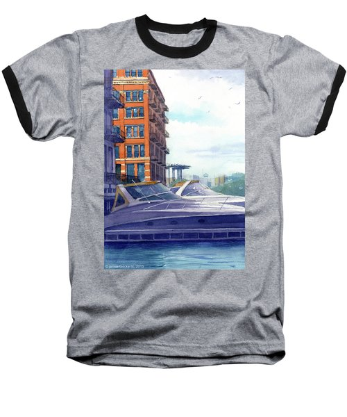On The Docks Baseball T-Shirt