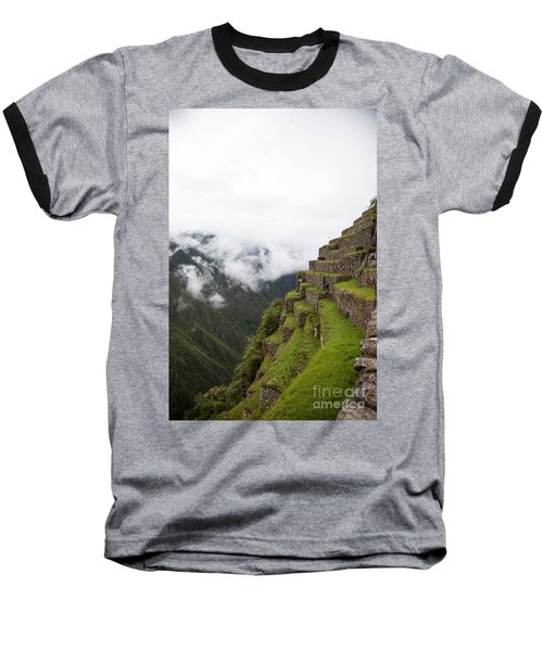 On The Edge Baseball T-Shirt