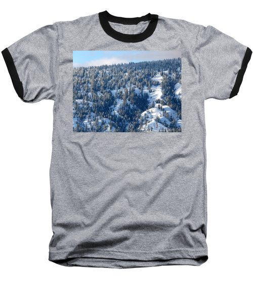 Baseball T-Shirt featuring the photograph On The Far Side by Will Borden
