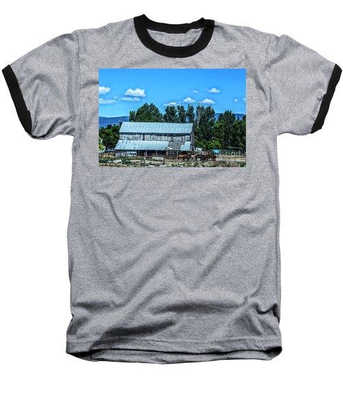 On The Farm Baseball T-Shirt by Billie-Jo Miller