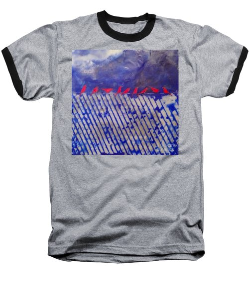 On The Fence Baseball T-Shirt