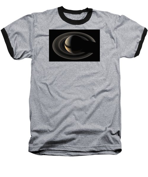 On The Final Frontier Baseball T-Shirt by Nasa