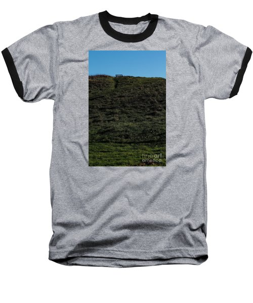 Baseball T-Shirt featuring the photograph On The Hill by Gary Bridger