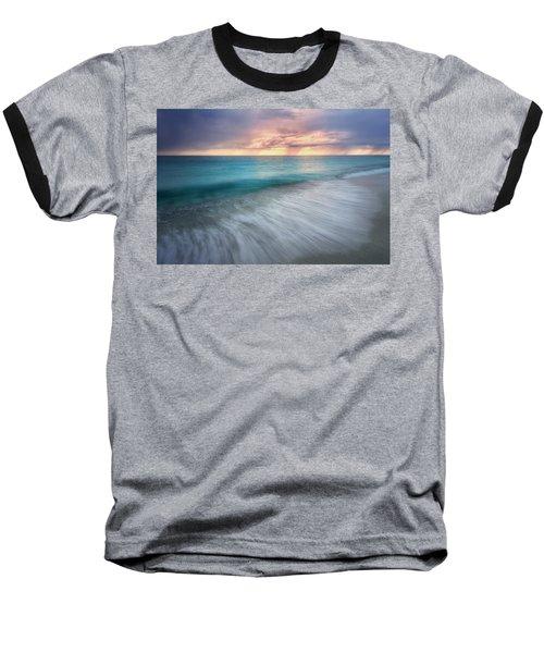 On The Horizon  Baseball T-Shirt by Nicki Frates