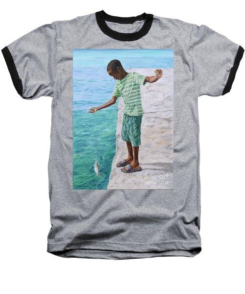 On The Line Baseball T-Shirt