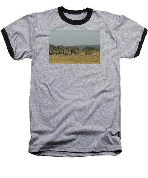 Baseball T-Shirt featuring the photograph On The Move by Gary Hall
