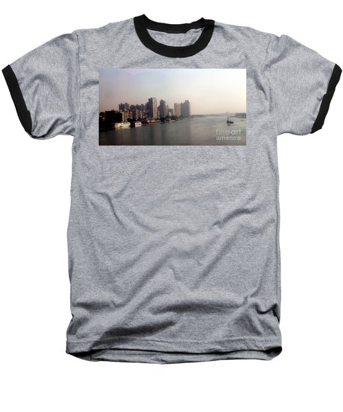 On The Nile River Baseball T-Shirt by Jason Sentuf