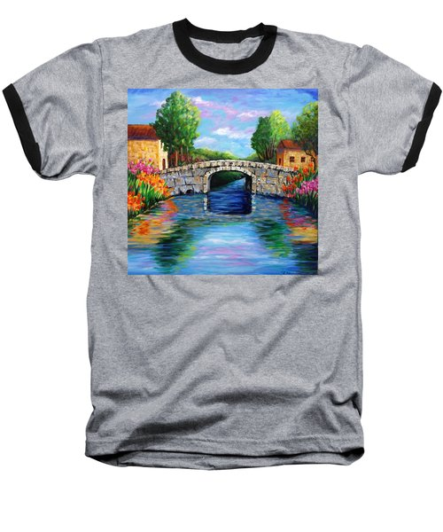 On The Other Side Of The Bridge Baseball T-Shirt