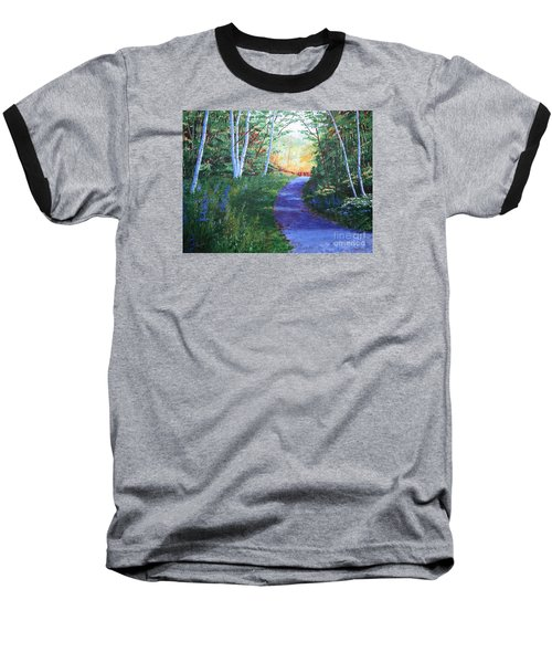 On The Path Baseball T-Shirt