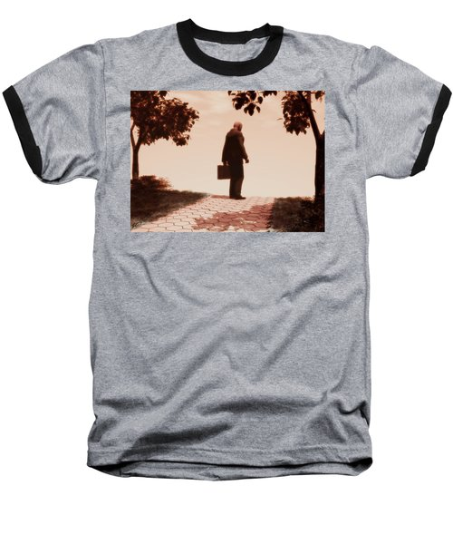 On The Path To Nowhere Baseball T-Shirt
