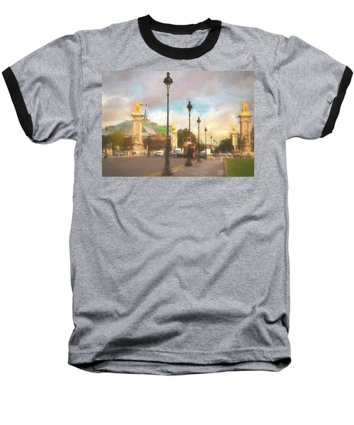 On The Pont Alexandre  Baseball T-Shirt