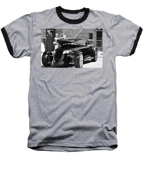 Baseball T-Shirt featuring the photograph On The Prowl by Al Fritz