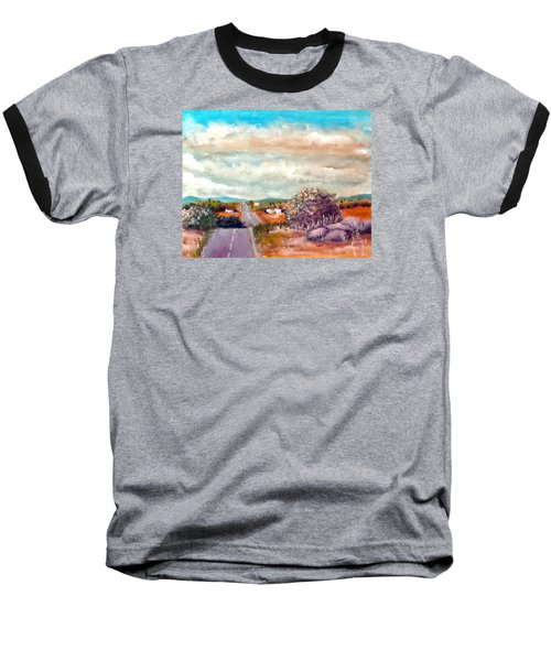 On The Road Again Baseball T-Shirt by Jim Phillips