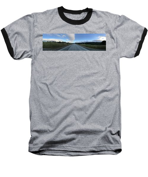 On The Road Baseball T-Shirt by Alex King