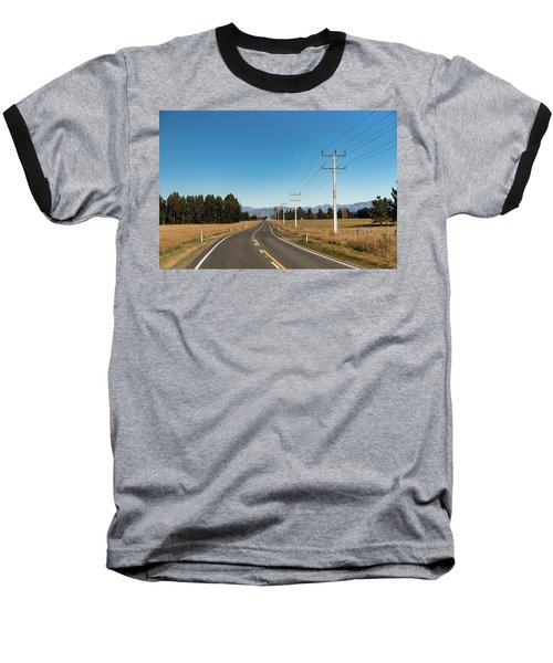 Baseball T-Shirt featuring the photograph On The Road by Gary Eason