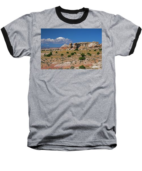 On The Road To Cathedral Valley  Baseball T-Shirt