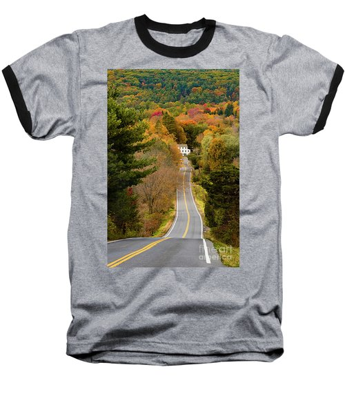 On The Road To New Paltz Baseball T-Shirt