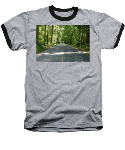 On The Road Baseball T-Shirt