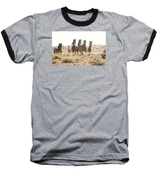 On The Run Baseball T-Shirt