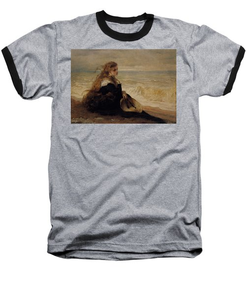 On The Seashore Baseball T-Shirt