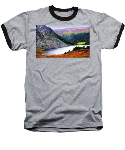 On The Shore Of Lough Tay. Wicklow. Ireland Baseball T-Shirt