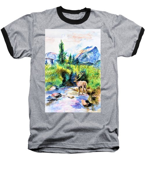 On The Stream Baseball T-Shirt
