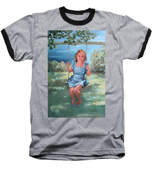 On The Swing Baseball T-Shirt