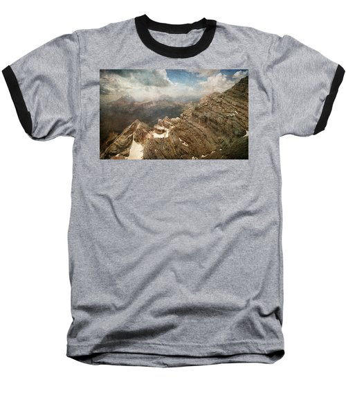 On The Top Of The Mountain  Baseball T-Shirt