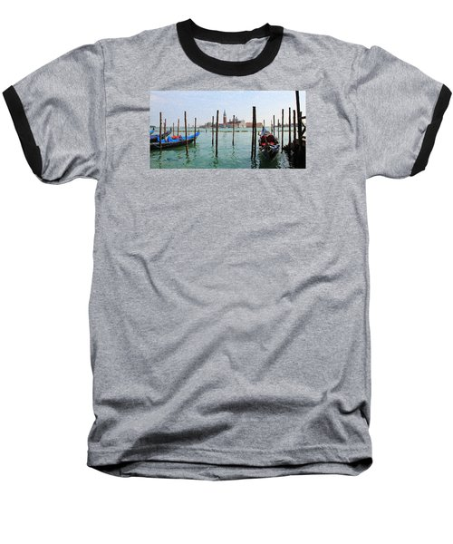 On The Waterfront Baseball T-Shirt